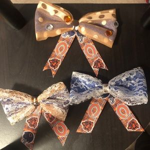Matchey 🏈 Bows! Chicago Bears